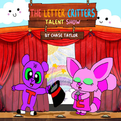 Autographed The Letter Critters Talent Show - Hard Cover